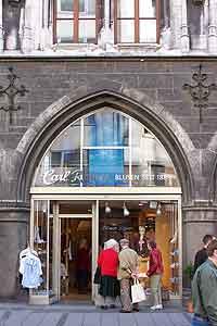 Einkaufsstraßen in München: Marienplatz 08 - Carl Raiser ...
