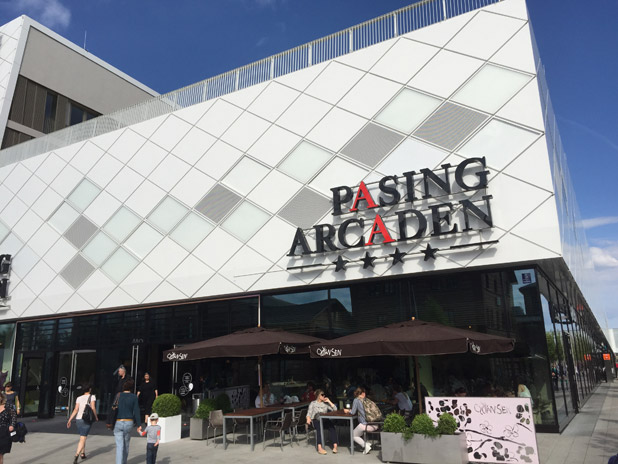 Shops Geschafte Restaurants Pasing Arcaden Einkaufscenter