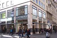 Einkaufsstraßen in München: Neuhauser Str. 23- Thomas Schuhe ...