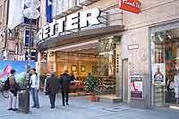 Einkaufsstraßen in München: Neuhauser Str. 39 Tretter Schuhe